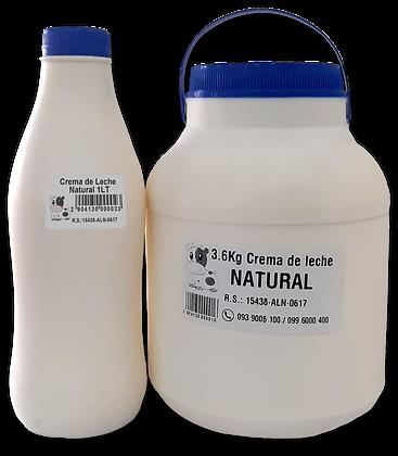 Crema de leche NATURAL