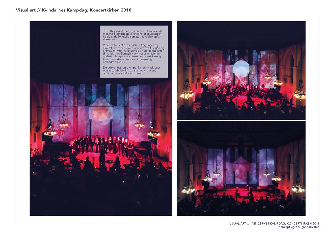 Visual art // Koncertkirken