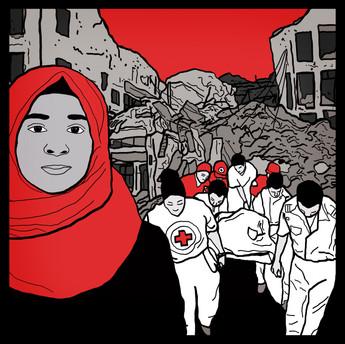Striber til Røde Kors