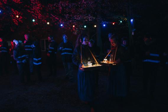 Fortællinger fra mørket - en vandringsforestilling i Rudme