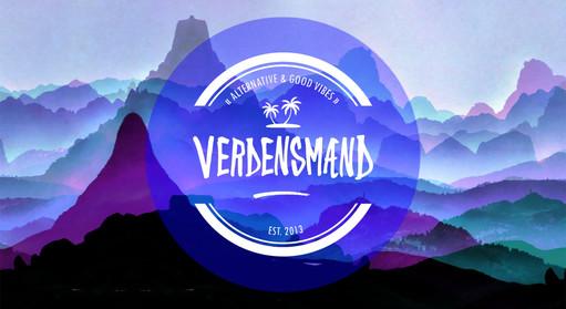 Coverdesign for bandet Verdensmænd