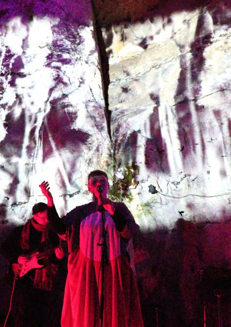 Underjordisk visuel koncert