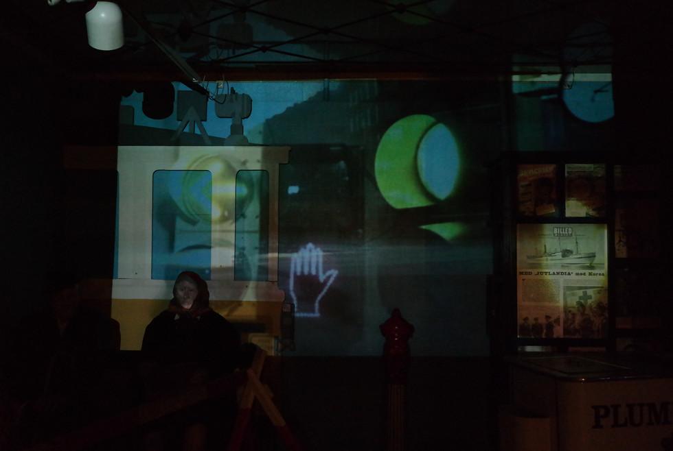Videoprojektioner på Arbejdermuseet