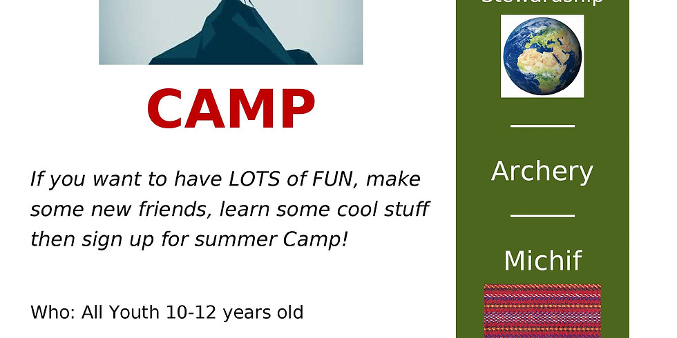 Metis Strong Youth Summer Day Camp