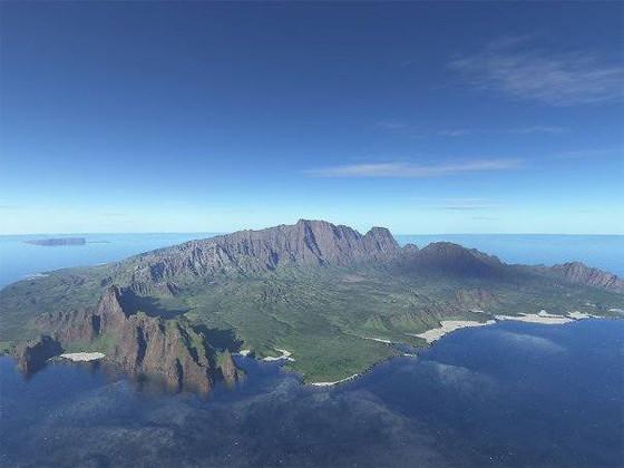 Breathtaking view of Kauai