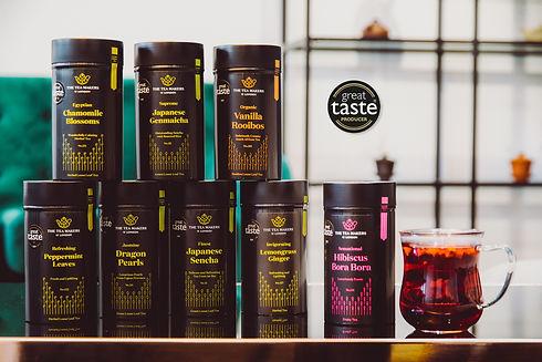Great Taste 2020 award winning tea selec