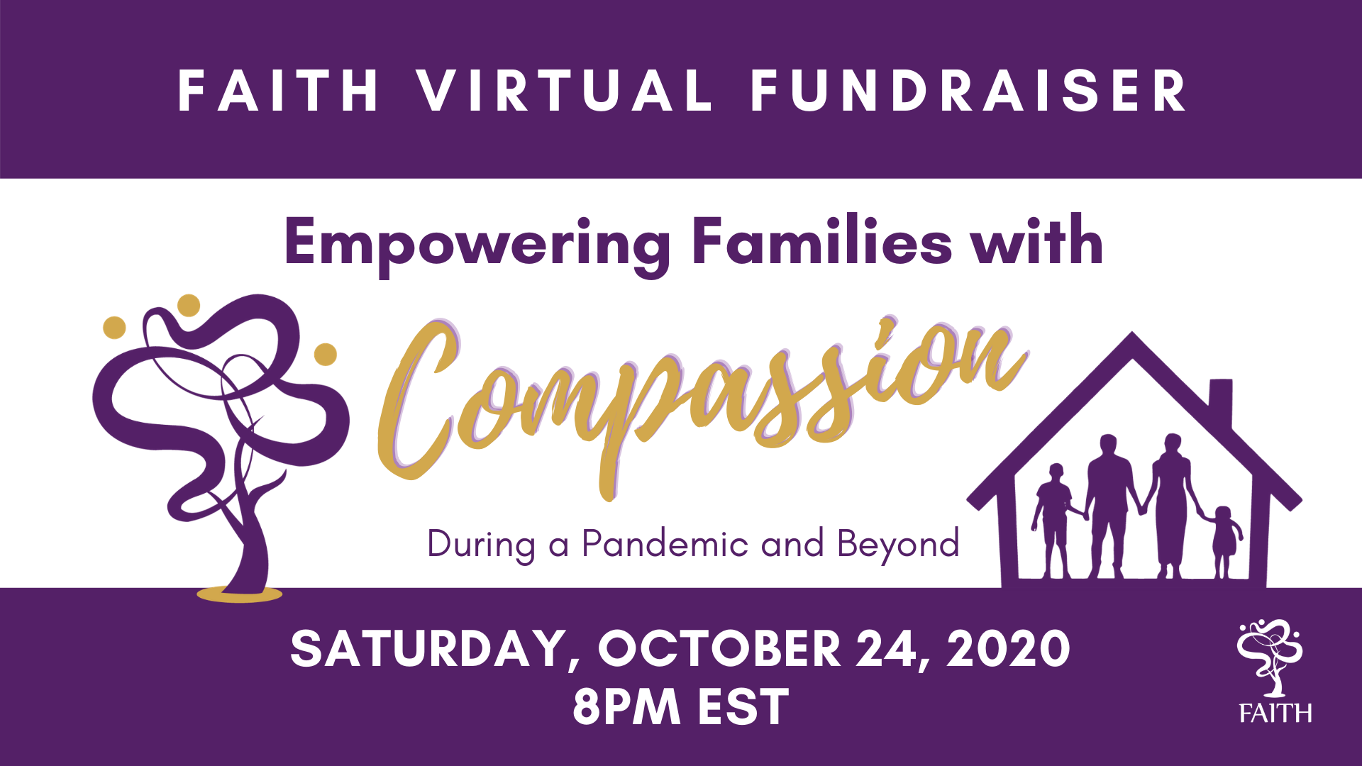 FAITH Virtual Fundraiser FB Event Photo