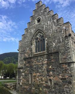 Historic castle, Bergen, Norway