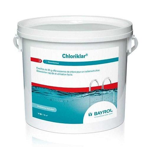 Chloriklar Schnelllösliche Chlortablette 17g, 1kg