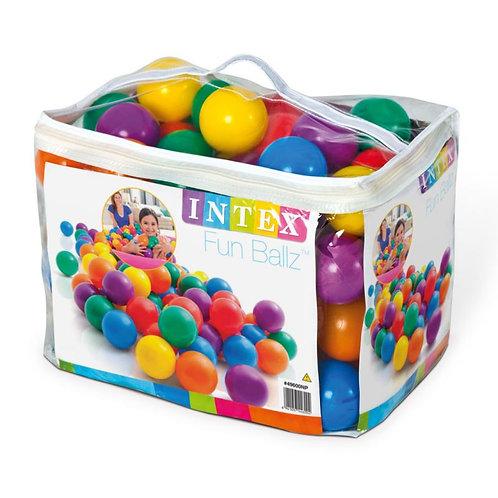 Intex 100 bunte FunBallz Spielbälle