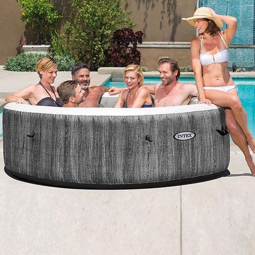Whirlpool Intex PureSpa Greywood Deluxe 6 Personen