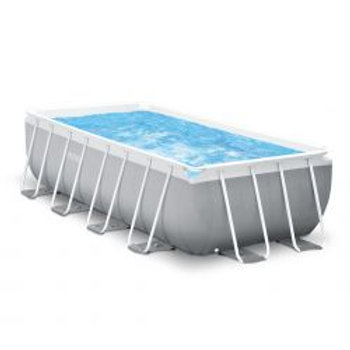 Intex Prism Frame Rectangular Pool Set 488x244x107 cm