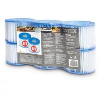 Intex Filterkartuschen Whirlpools Typ S1 Six Pack