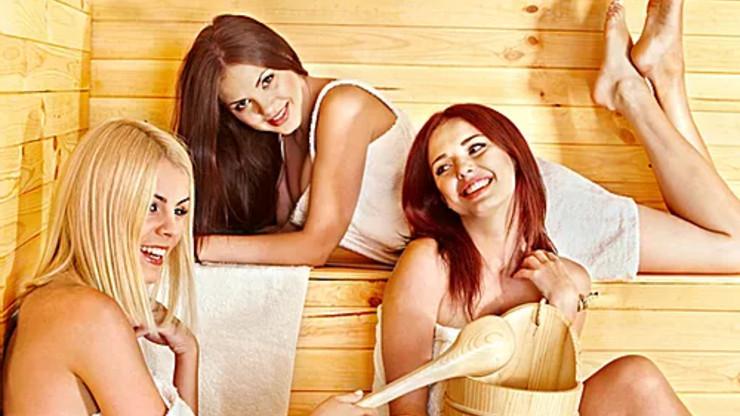 Die finnische Sauna von Aqua Sentio