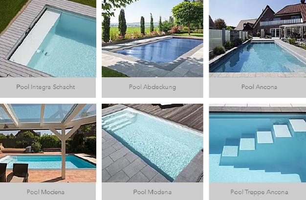 Welche Varianten von Schwimmbecken gibt es