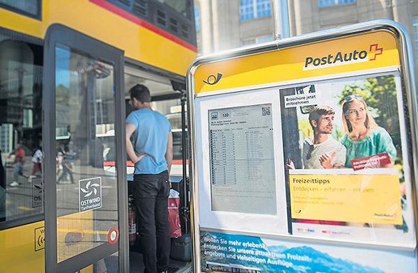 DynPaper bei PostAuto