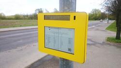 deZign mit LCD und Solarbetrieb bei der BVG