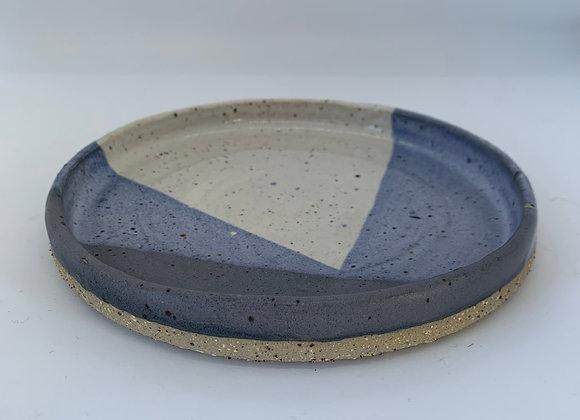 鈷藍圓盤 Cobalt blue round plate