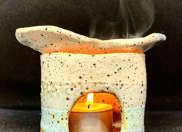陶雨作土精油燈 Mini oil burner