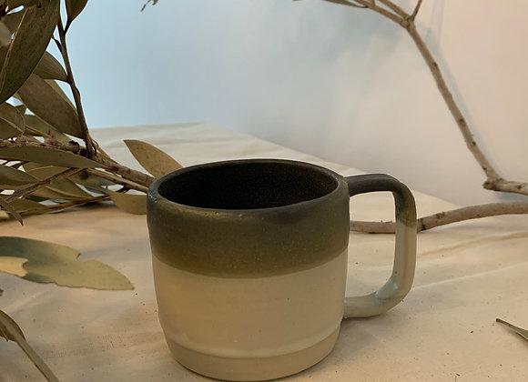橄欖綠杯 Olive Mug*2 (Kintsugi)