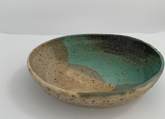青銅質樸盤 Janet DeBoos rustic plate