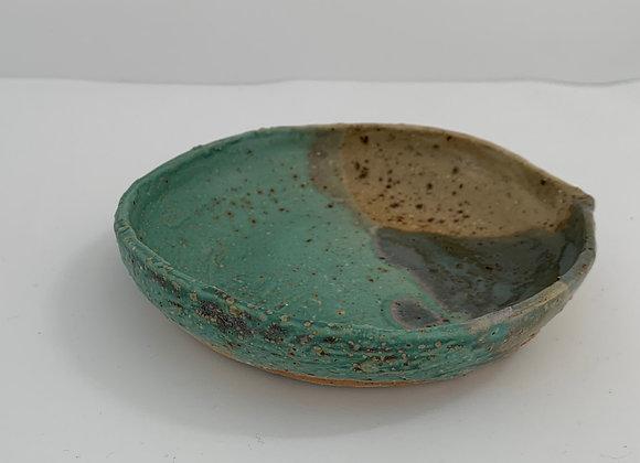 青銅質樸小盤 Janet DeBoos rustic side plate