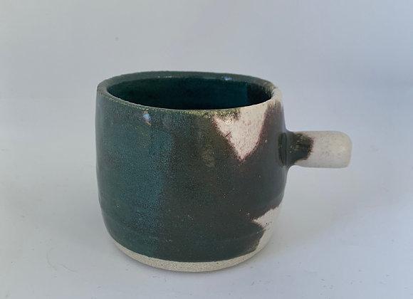 碧璽綠手杯 Tourmaline green hand cup