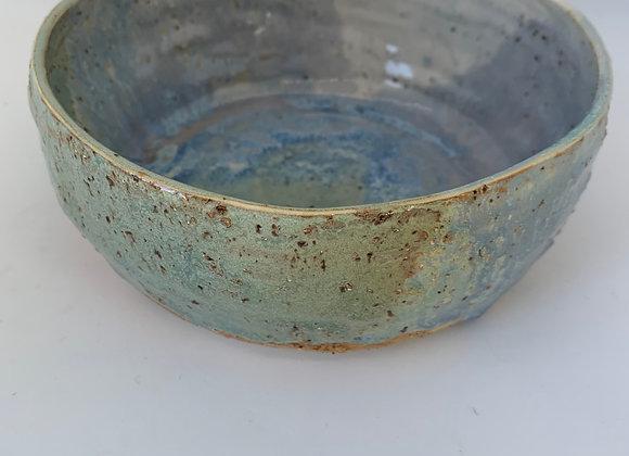手感煙紫天空碗 Tactile smokey lilac sky bowl