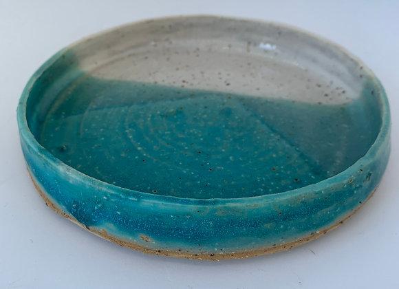 綠松石圓盤 Turquoise round plate