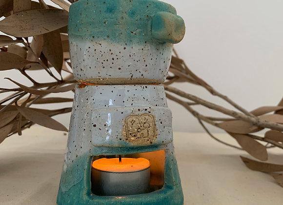 陶雨作土精油燈 oil burner