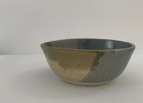 金紅石飯缽 Rutile blue humble bowl