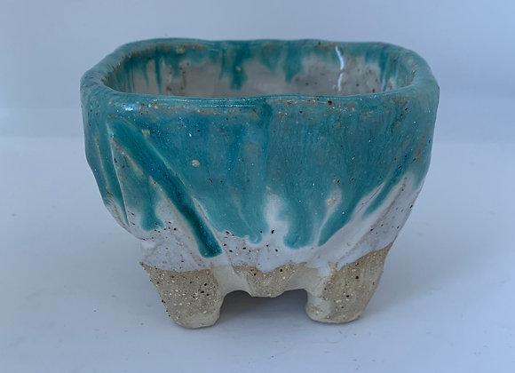 綠松石手感植栽 Turquoise pot