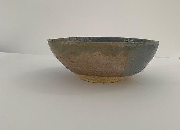 金紅石飯缽 (小)Rutile blue humble bowl (S)