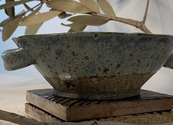 手捏土碗 Earthy side bowl