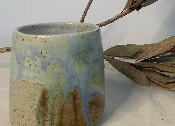 手感煙紫天空杯 Tactile smokey lilac sky cup