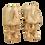 Thumbnail: Chevaux Han en terre cuite vernis