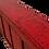 Thumbnail: Meuble en orme ancien relaqué rouge