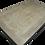 Thumbnail: Table ancienne en orme décapé et noir mat