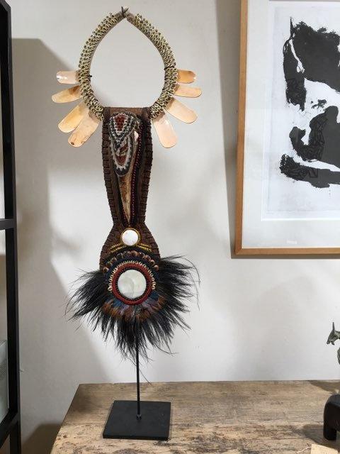 Collier ancien de Papouasie