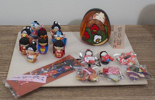 Okiagari porte-bonheur japonais