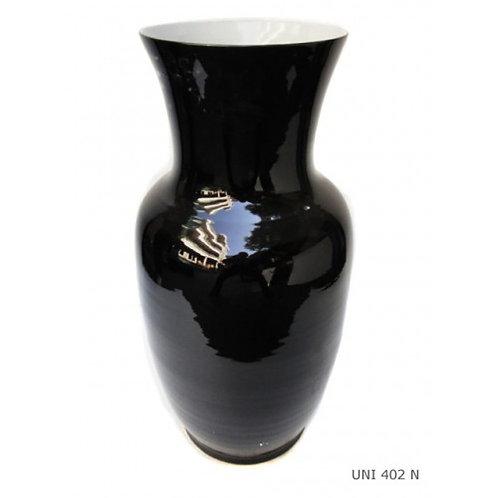 Vase droit noir