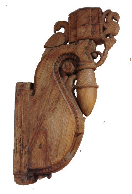 Paire de CORBEAUX ANCIEN INDIEN