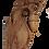 Thumbnail: Paire de CORBEAUX ANCIEN INDIEN