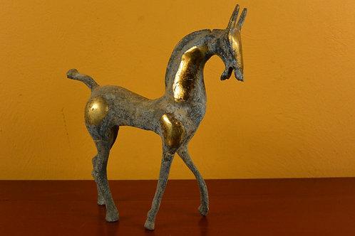 Petit cheval Han en bronze