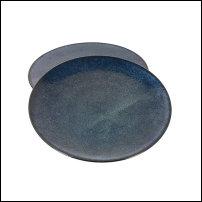 Assiettes bleuesen céramique