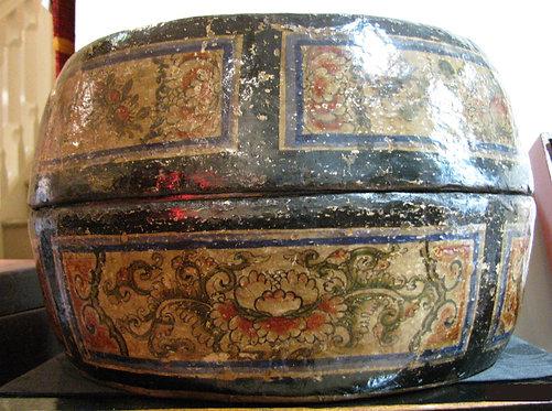 Boite à chapeau ancienne 19ème siècle