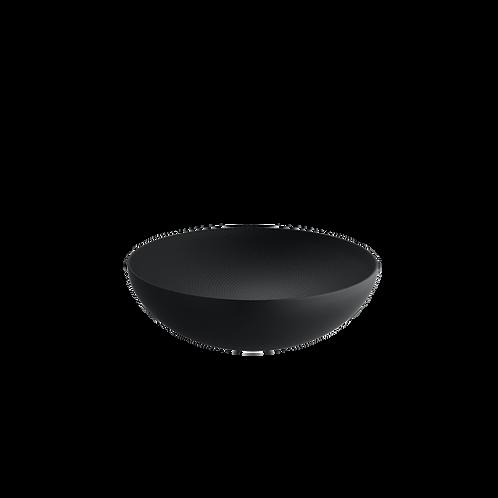 Moiré bol avec décoration en relief 25 cm