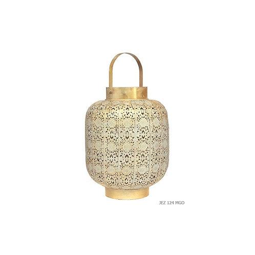 Lanterne métal or