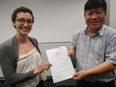 Thais awarded 1st place at EFRI Student Symposium!
