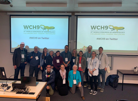 The World Congress of Herpetology in New Zealand!